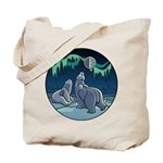 Polar Bear Tote Bag Kid's Arctic Art Bag