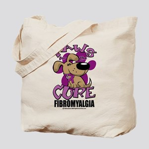 Paws For The Cure Fibromyalgi Tote Bag