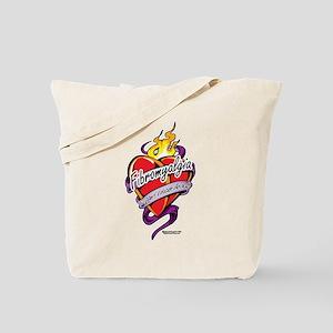 Fibromyalgia Tattoo Tote Bag