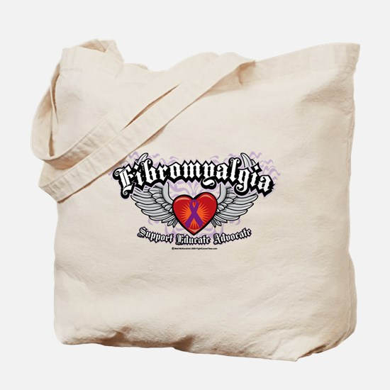 Fibromyalgia Wings Tote Bag