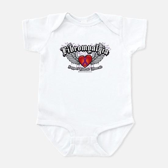 Fibromyalgia Wings Infant Bodysuit