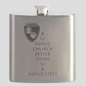 R U Doing Church Flask