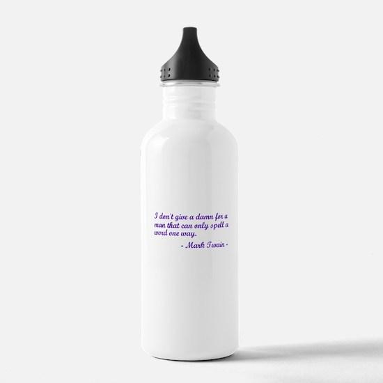 Cute Dyslexia Water Bottle