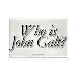 Who is John Galt Rectangle Magnet (100 pack)