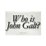 Who is John Galt Rectangle Magnet (100 pack)