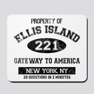 Ellis Island Mousepad