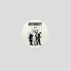 Anti Authority Mini Button