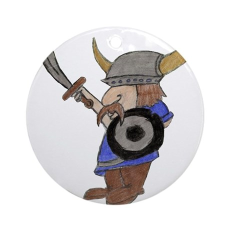 Lil Viking Ornament (Round)