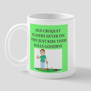 croquet player joke Mug