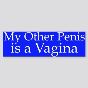 My Other Car is a Vagina Sticker (Bumper)