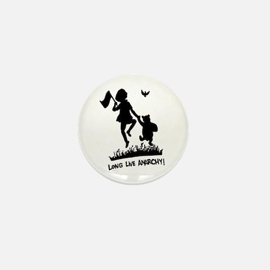 Long Live Anarchy Mini Button