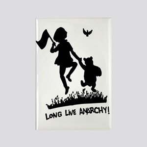 Long Live Anarchy Rectangle Magnet