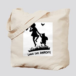 Long Live Anarchy Tote Bag