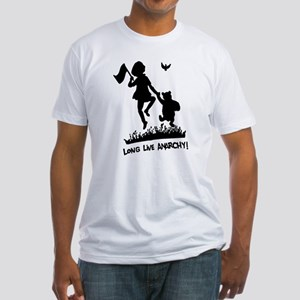 Long Live Anarchy Fitted T-Shirt