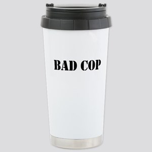 Bad Cop Stainless Steel Travel Mug