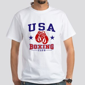USA Boxing White T-Shirt