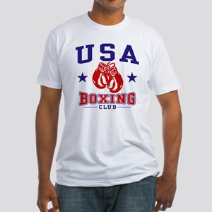 USA Boxing Fitted T-Shirt