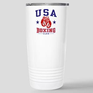 USA Boxing Stainless Steel Travel Mug