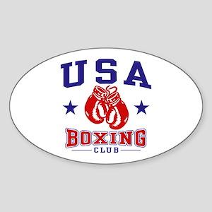 USA Boxing Sticker (Oval)