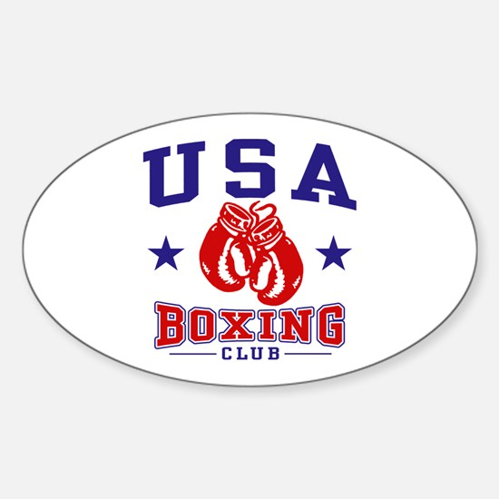 USA Boxing Sticker (Oval)