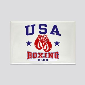 USA Boxing Rectangle Magnet