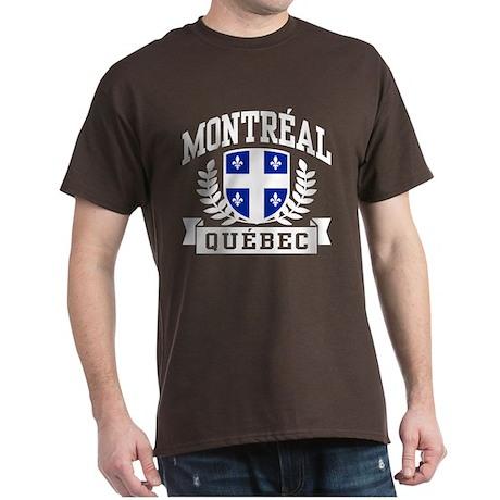 Montreal Quebec Dark T-Shirt