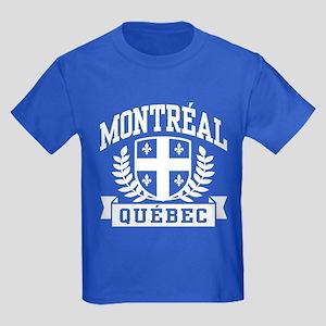 Montreal Quebec Kids Dark T-Shirt