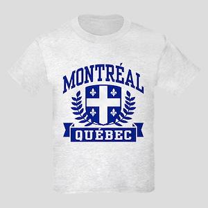 Montreal Quebec Kids Light T-Shirt
