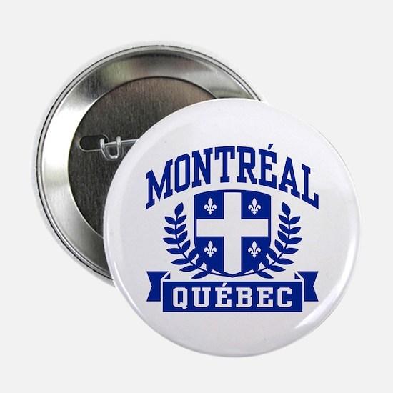 """Montreal Quebec 2.25"""" Button"""