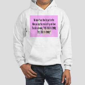 Retired Nurse Story Art Hooded Sweatshirt