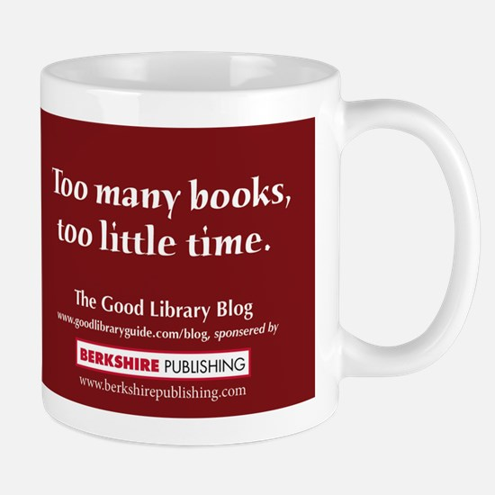 """""""Too many books, too little time."""""""