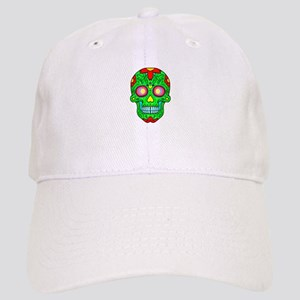 Colourful skull Cap