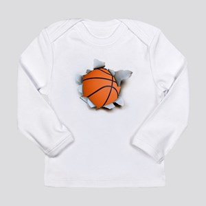 Basketball Burster Long Sleeve Infant T-Shirt