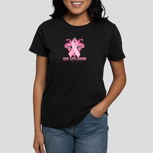 Everyday Pink Ribbon Women's Dark T-Shirt