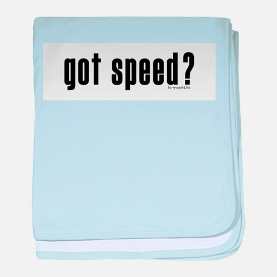 got speed? Infant Blanket
