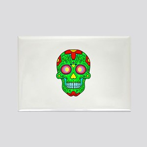 Colourful skull Magnets