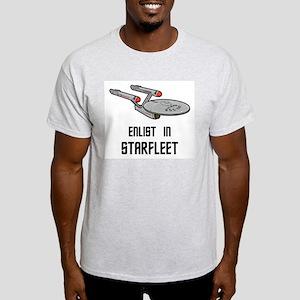 Enlist in Starfleet Light T-Shirt