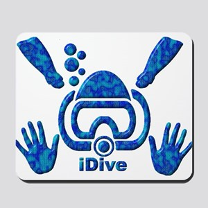 iDive Blue Sea 2010 Mousepad