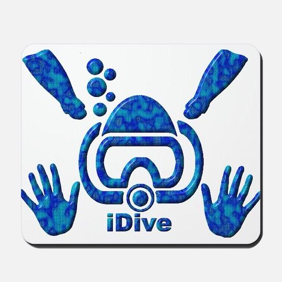 iDive Blue Sea 2010 Mousepad