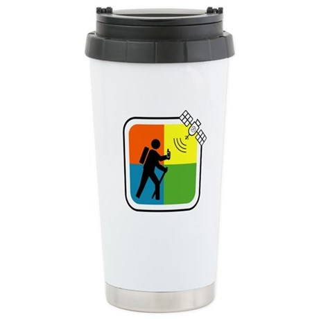 GeoCacher Stainless Steel Travel Mug