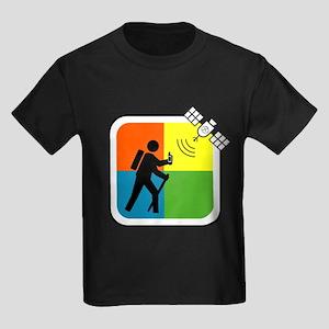 GeoCacher Kids Dark T-Shirt