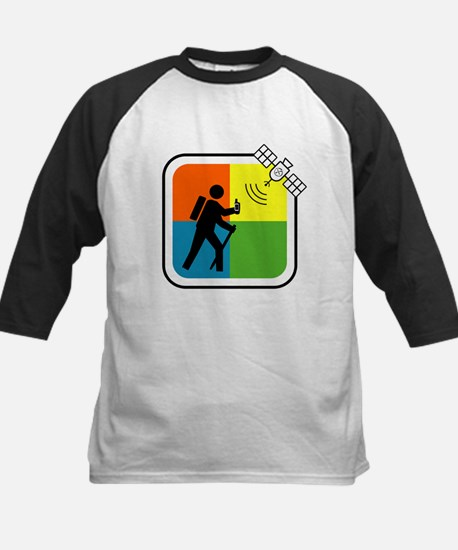 GeoCacher Kids Baseball Jersey