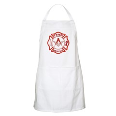 Masonic Fire & Rescue BBQ Apron