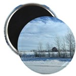 Winter on the Prairies Magnets