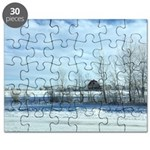 Winter on the Prairies Puzzle