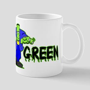 Go Green Frankensteing Body Mug