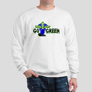 Go Green Frankensteing Body Sweatshirt