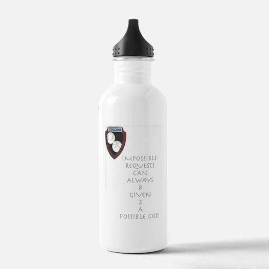 Given 2 God Water Bottle