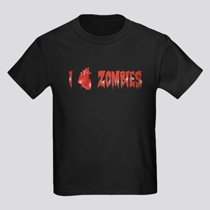 Zombie Love Kids Dark T-Shirt