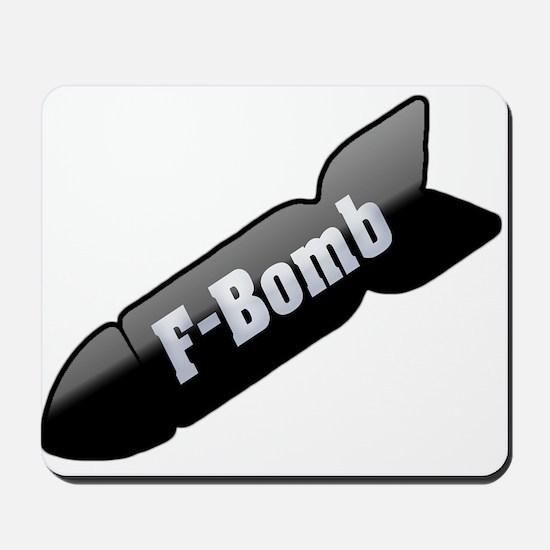 F-Bomb Mousepad